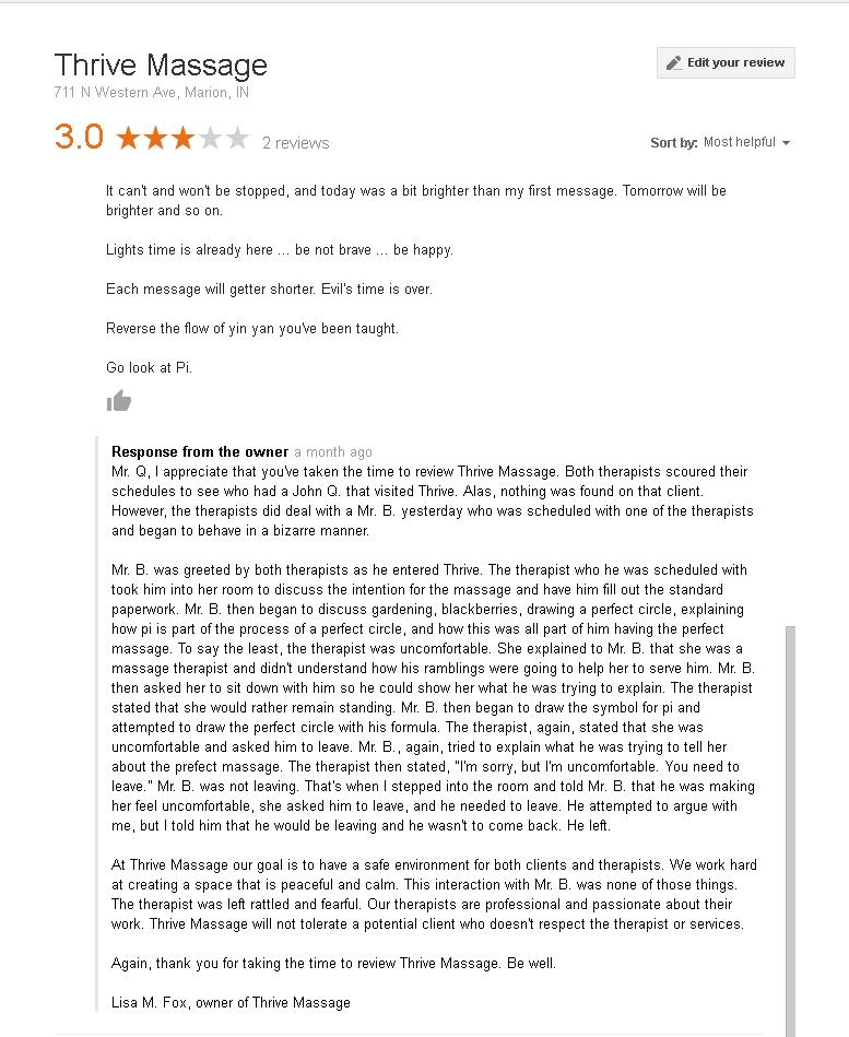 OwnersResponseOfPerfectMassage